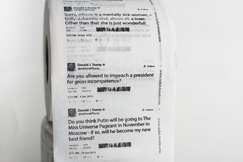 Donald trump toilet tweets