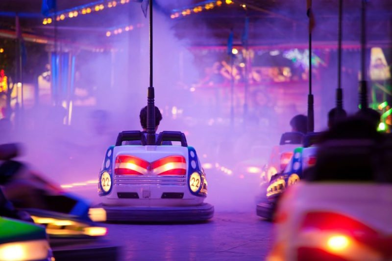 Archie Brothers Electric Circus Dodgem Cars