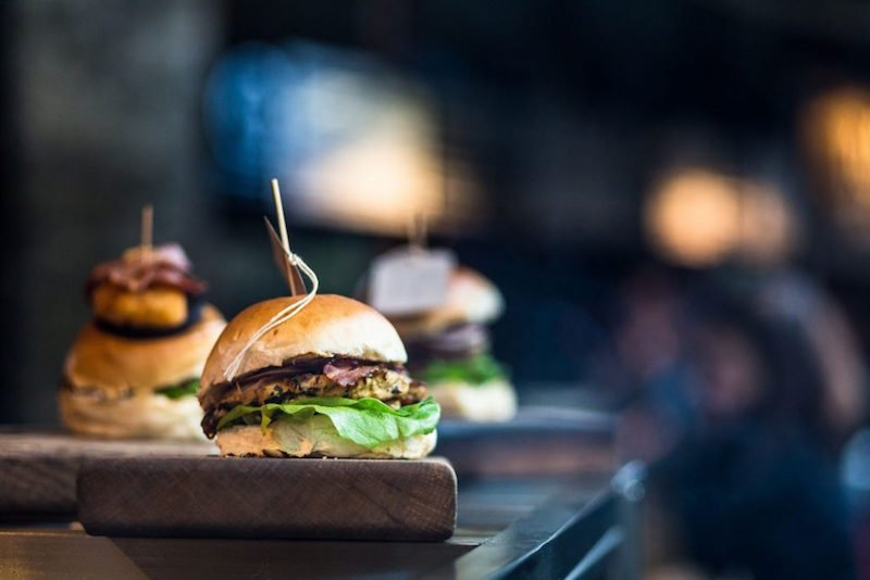 rchie Brothers Electric Circus burgers