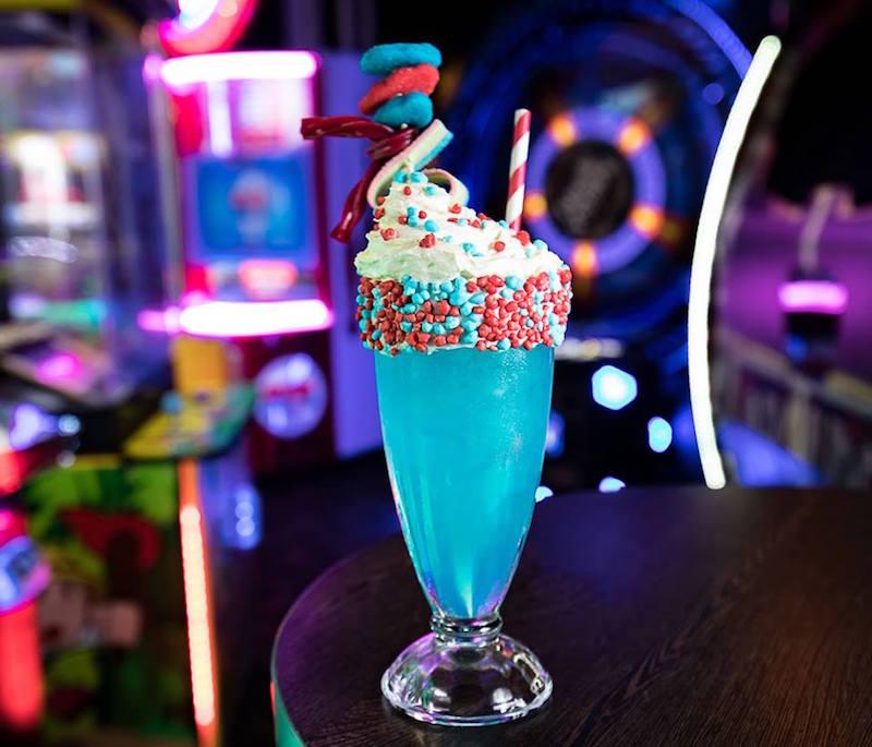 Archie Brothers Electric Circus milkshake