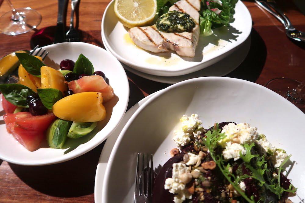 Culina et Vinum salads
