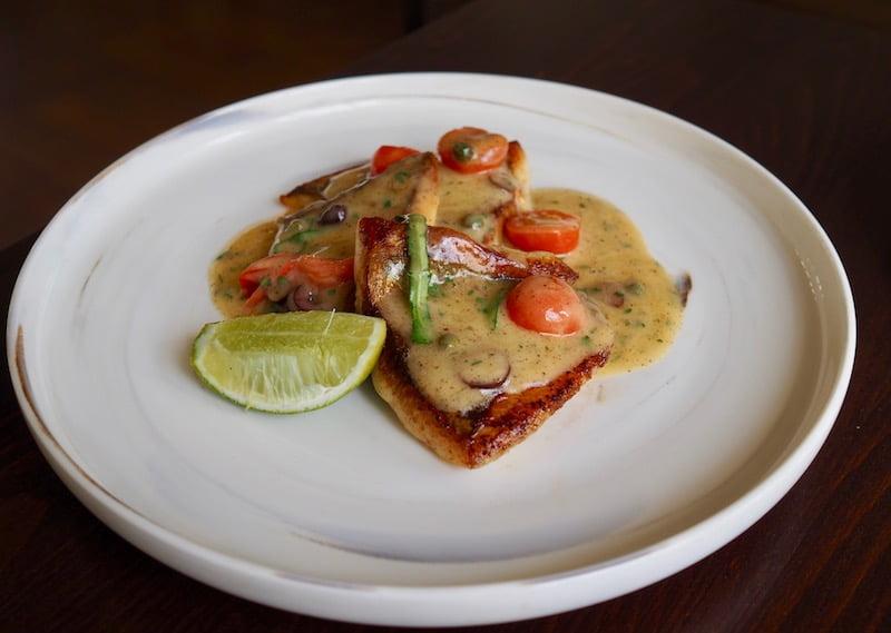 The Nielsen restaurant market fish