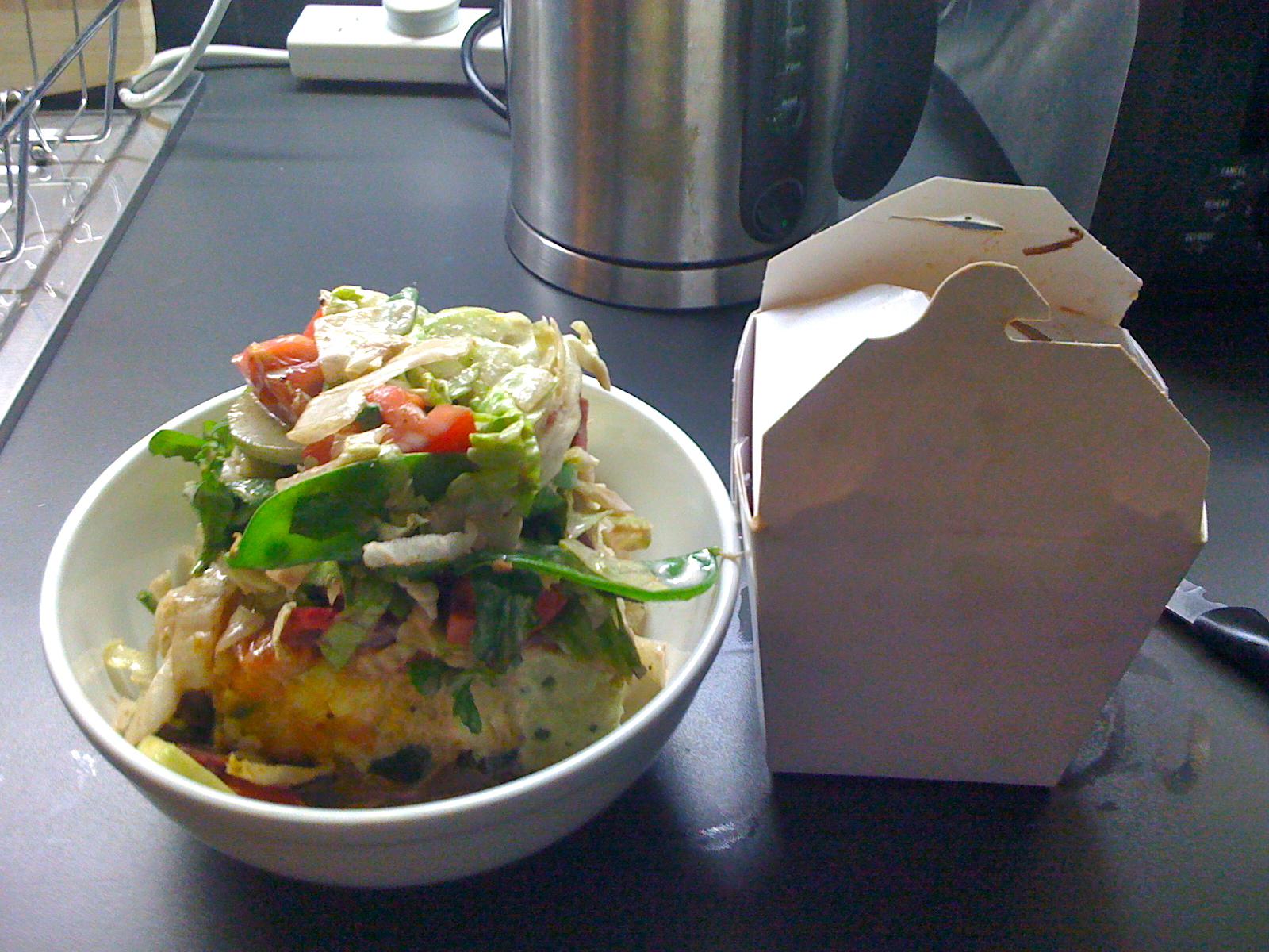 Malibu salad with smoked chicken: a recipe with photos 60
