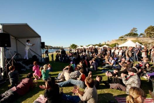 Pyrmont Festival entertainment