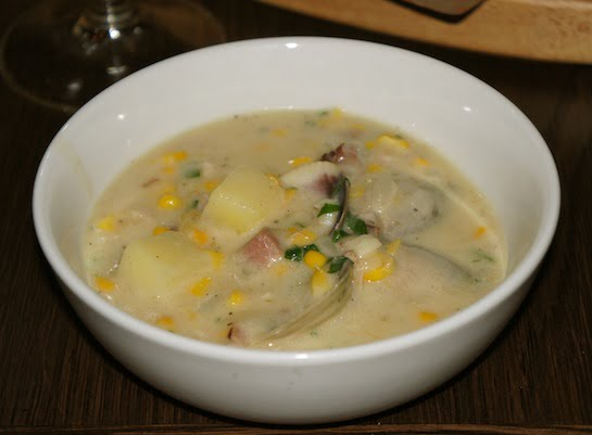 The Bourbon Sydney Clam Chowder