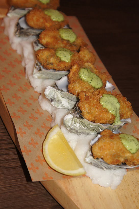 The Bourbon Sydney Deep Fried Oysters