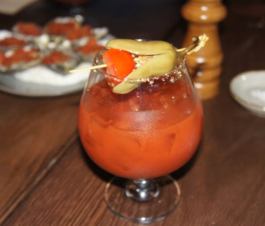 The Bourbon Sydney Mexican Bloody Mary