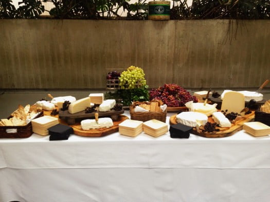 Cheese Table - The Terrace