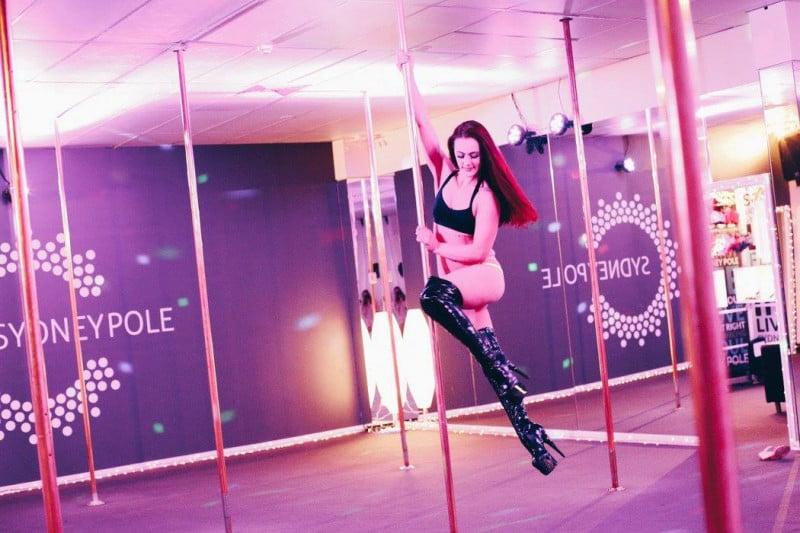 Sydney Pole Dance for exercise ideas Sydney