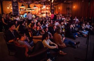 Soda Factory Movies - Movie Mondays crowd