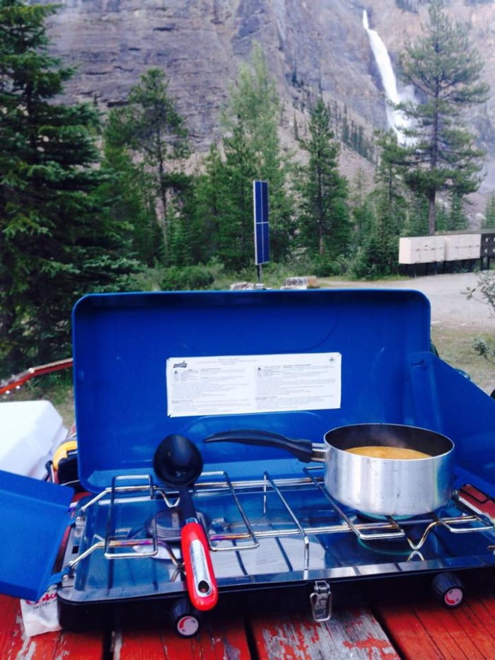 Canadian Rockies camping