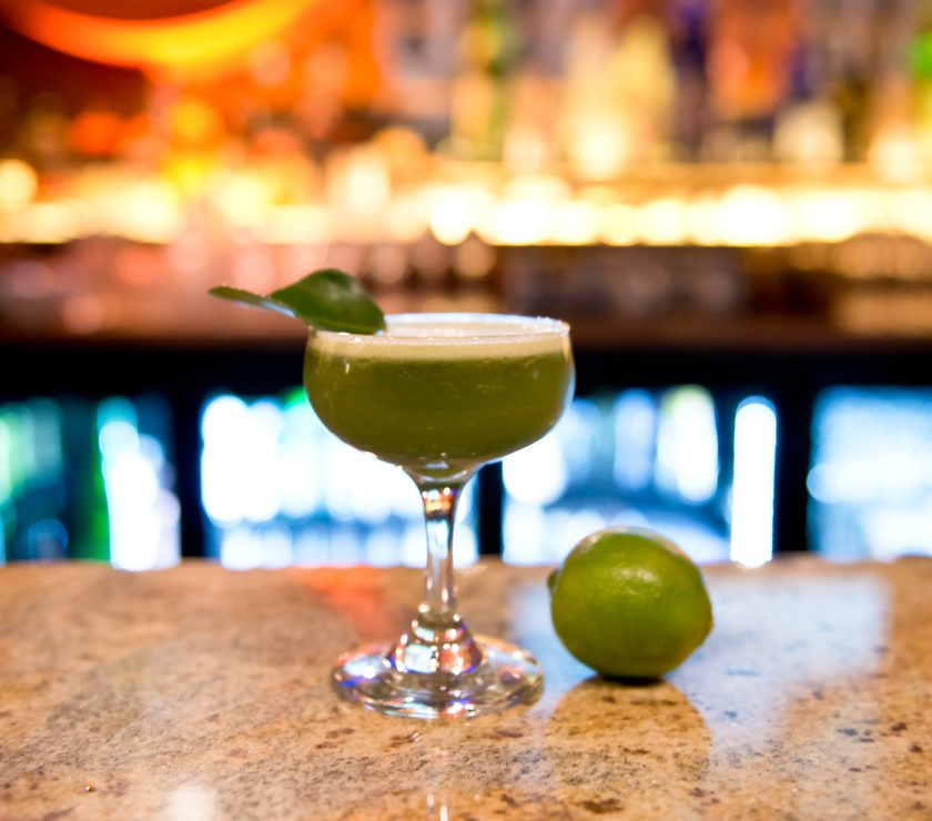 One Tea Lounge And Grill - Matcha cocktail