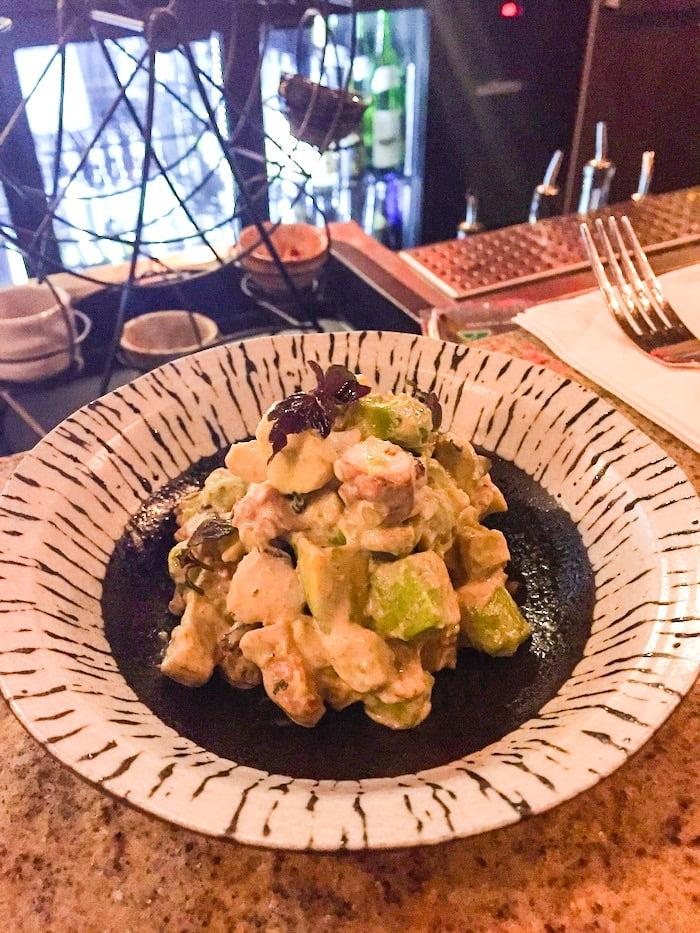 One Tea Lounge And Grill - Gyokoru Smoked Octopus