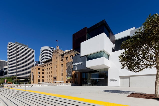 Free Cultural Venues: Museum of Contemporary Art. Photo courtesy of Architecture AU.