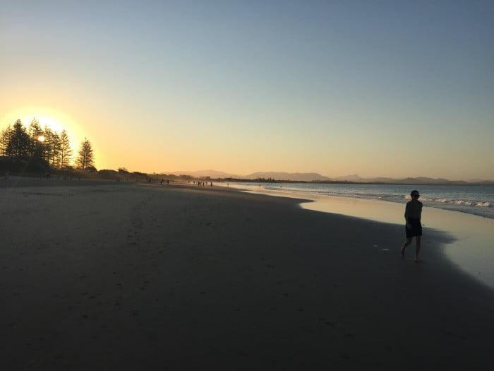 Sunset at Byron