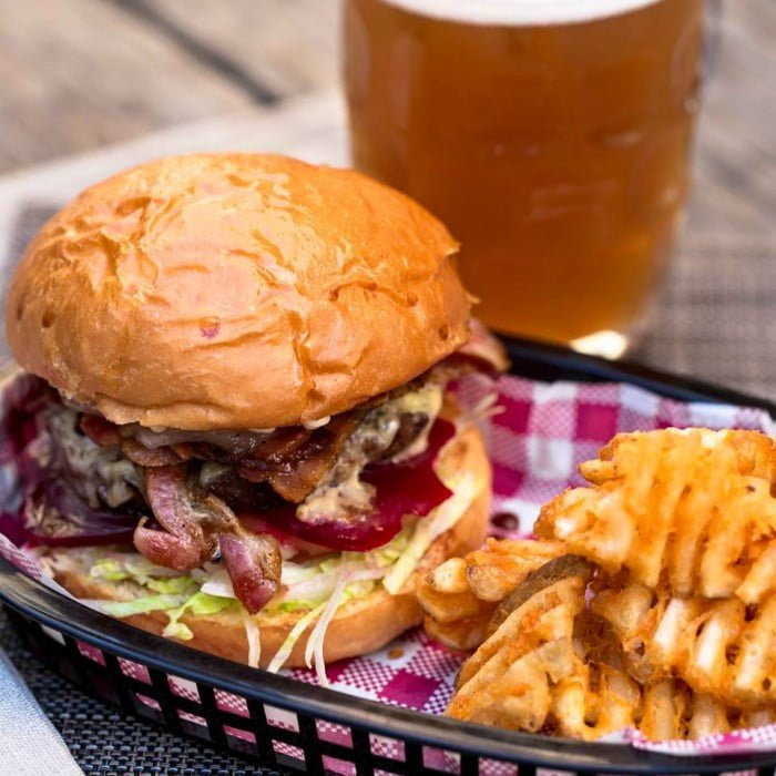 Crows Nest The Hayberry Burger