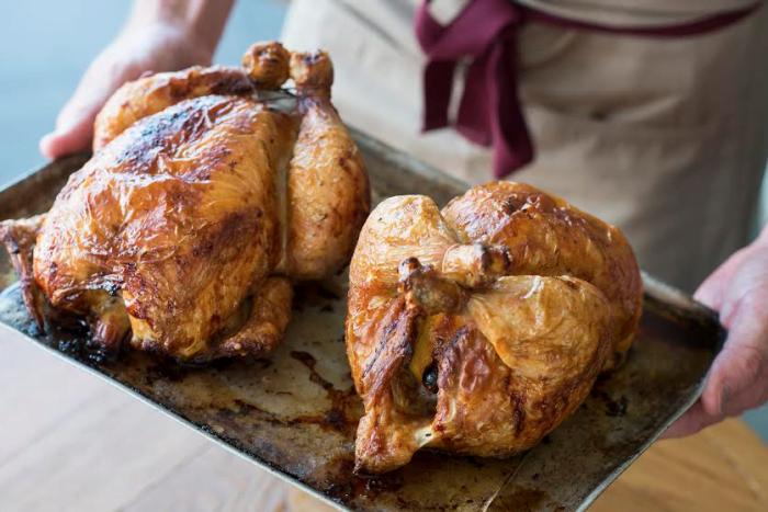 The Paddington rotisserie chicken
