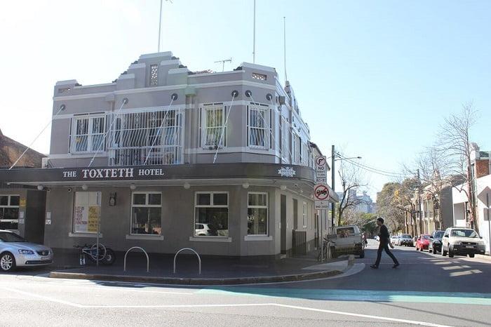 The Toxteth Hotel glebe pub