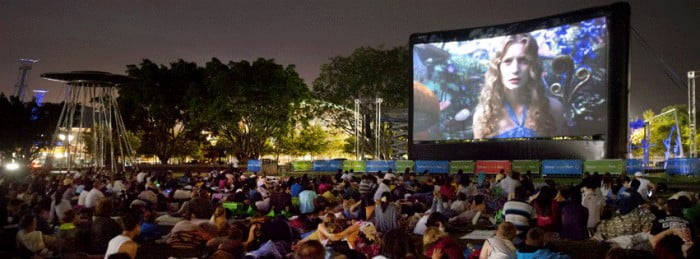 Outdoor Cinemas Movie by the Boulevard
