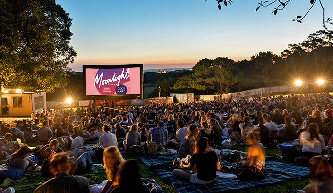 Outdoor Cinemas Moonlight