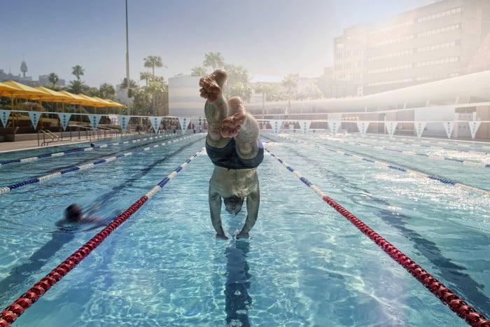 Prince Alfred Park Pool diving