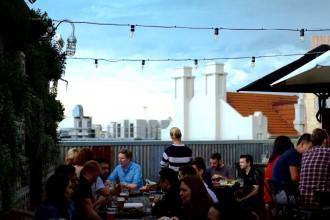 Webster's Bar rooftop