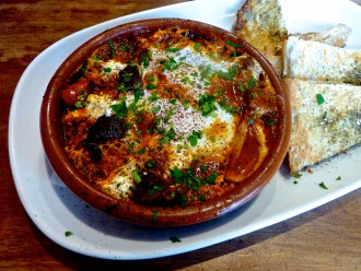 Cafe Mint baked eggs