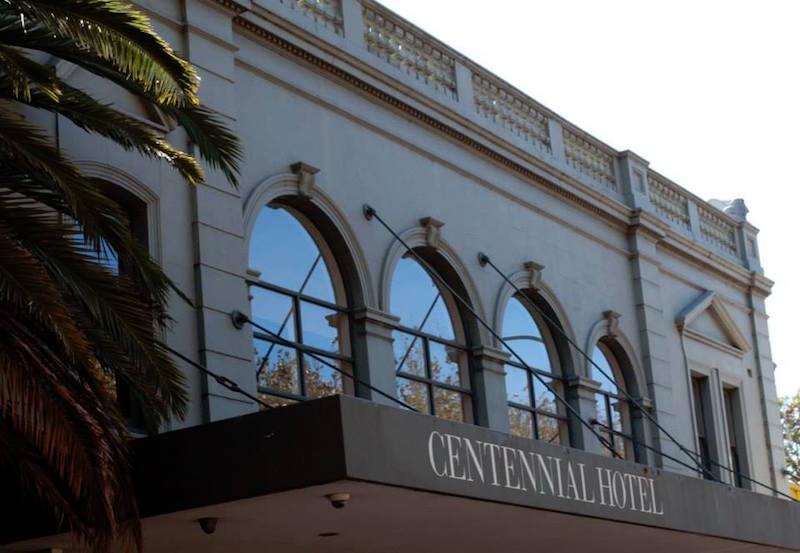 Hotel Centennial facade