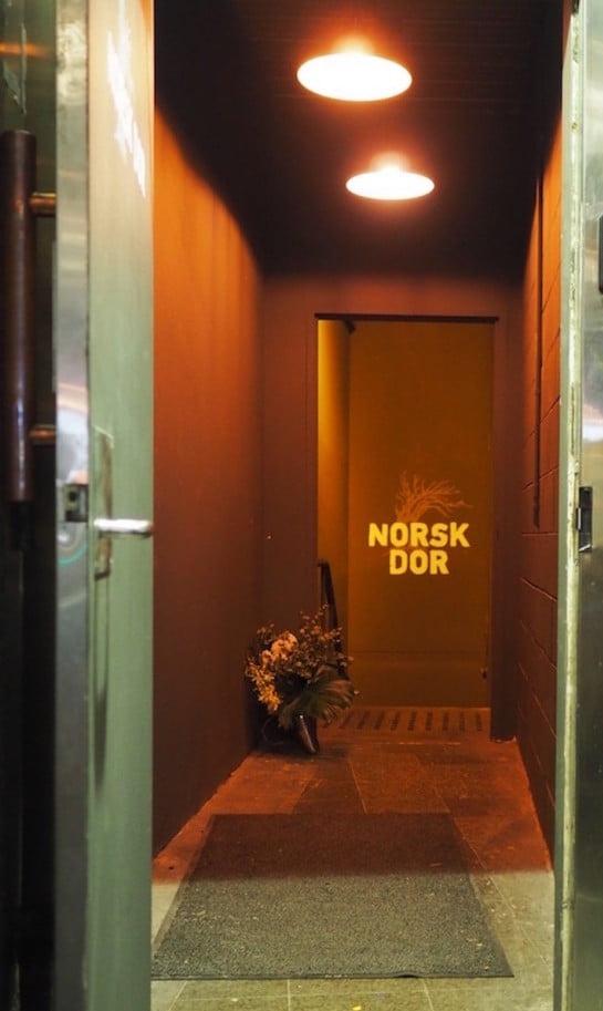 norsk door entrance