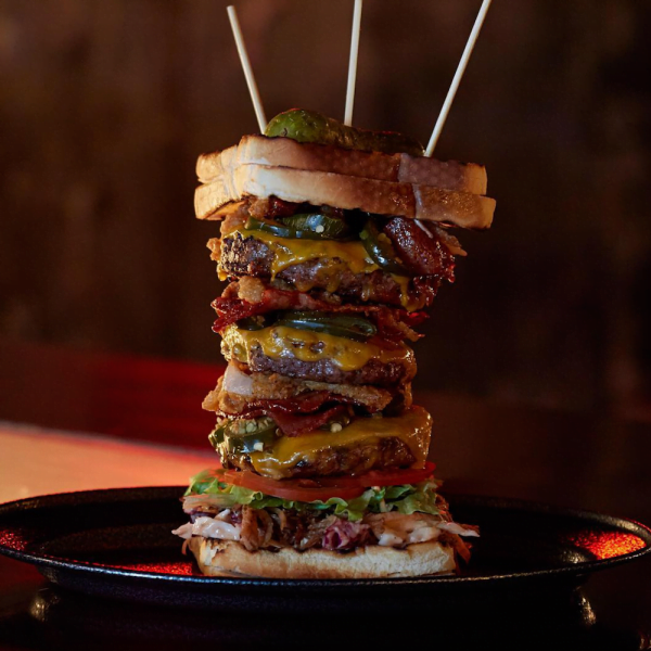 cheese toastie burger ze pickle crazy food