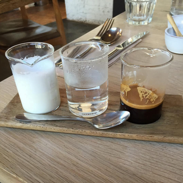 Deconstructed coffee melbourne crazy food