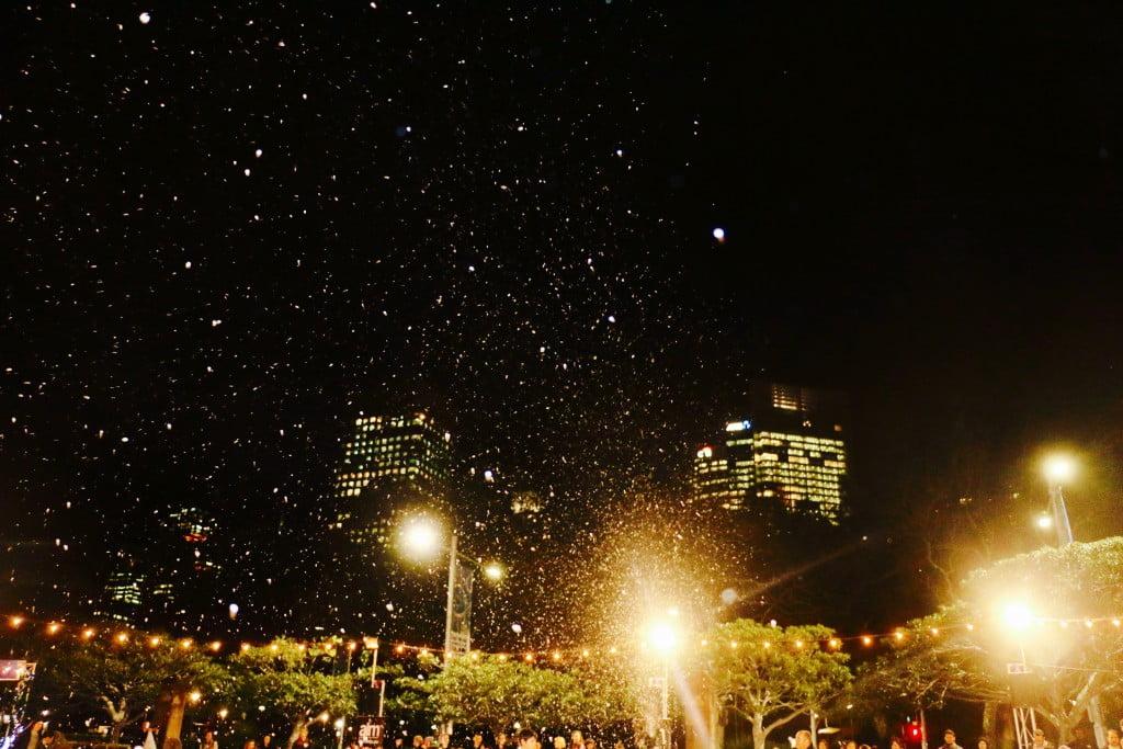 Winter Festival Snow