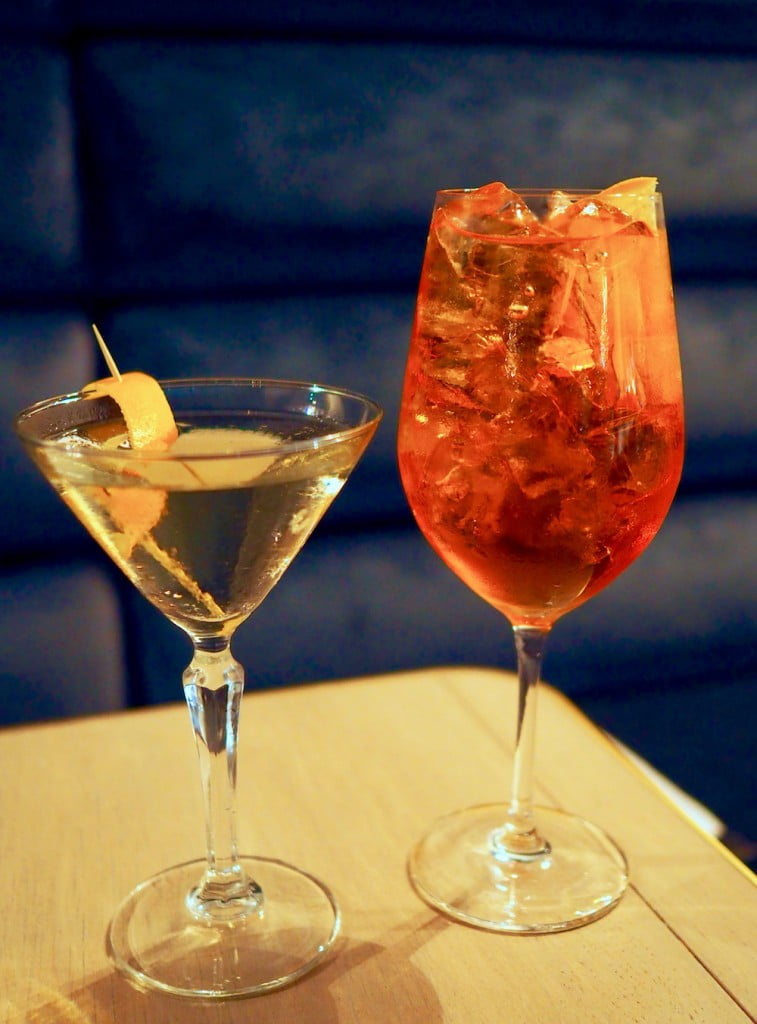 Mistelle cocktails
