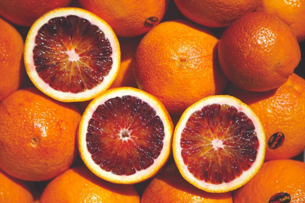 Blood oranges - whole