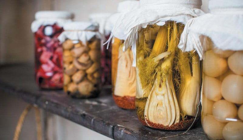 Spring Harvest Festival - Pickle Jars