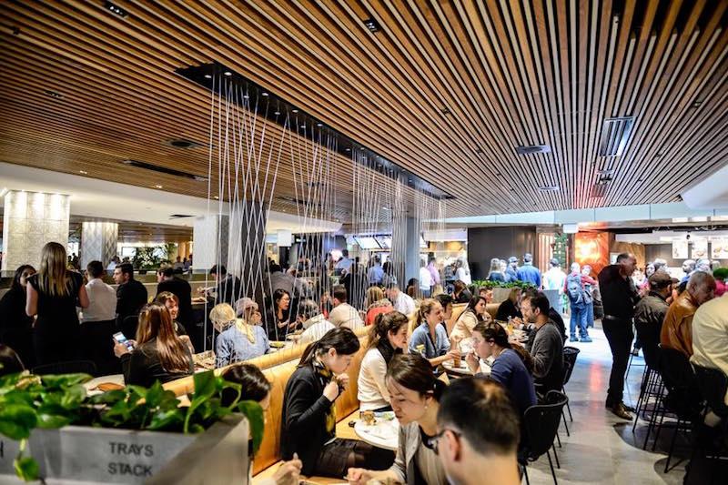 Gateway Sydney dining food court