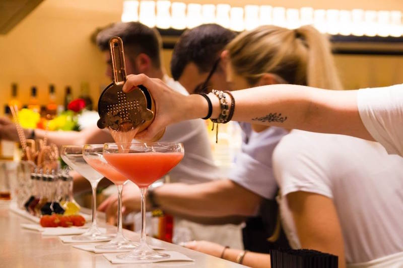 Nour restaurant cocktails