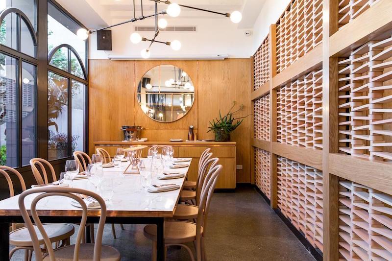 Nour restaurant private dining room