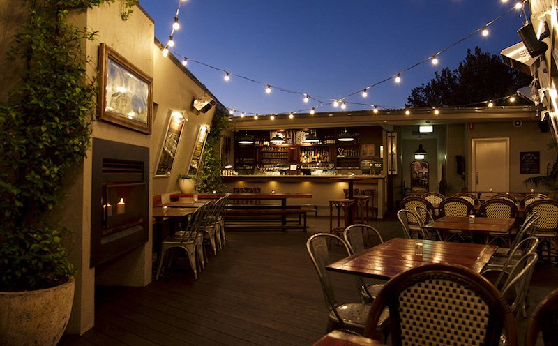 Sydney rooftop bars local taphouse at night