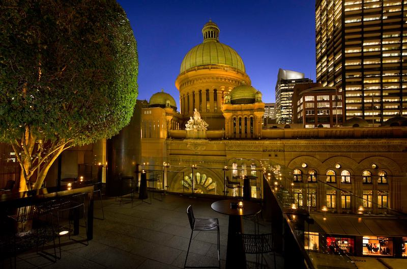 Sydney rooftop bars zeta bar hilton hotel