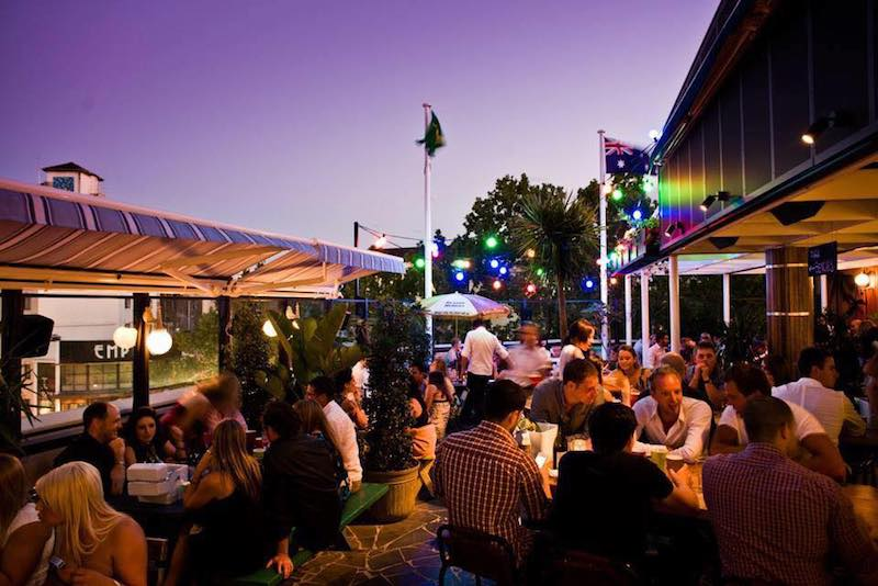 sweetheart's rooftop bar sydney