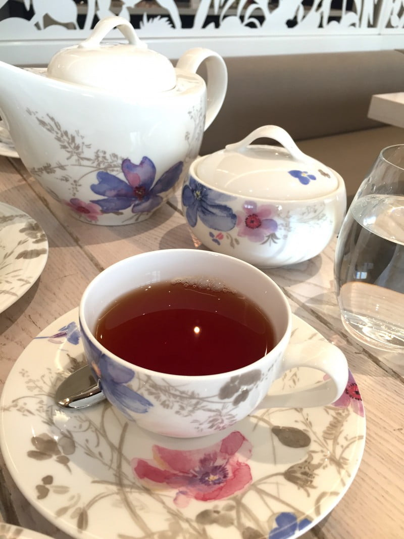 ABODE Chocolate High Tea - Rose w/ French Vanilla Tea
