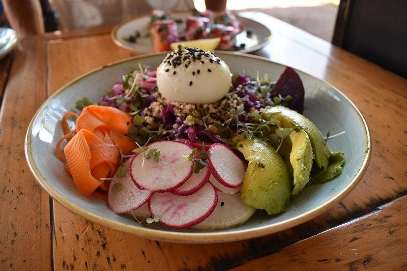 Bloom Cafe salad