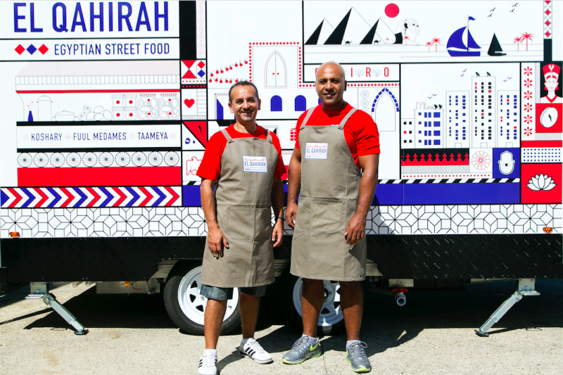 El Qahirah Food Truck Kaldas and Soliman