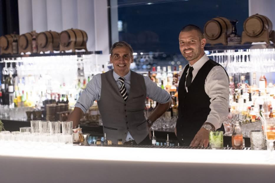 Zephyr Rooftop Bar bartenders