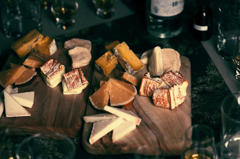 Whisky & Cheese board