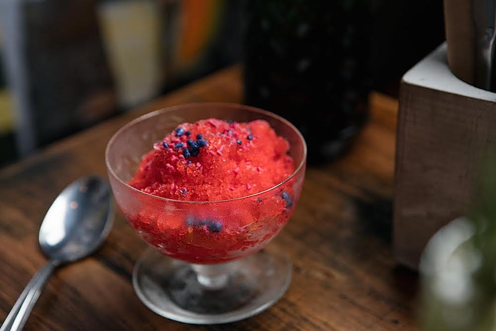 brick lane watermelon granita