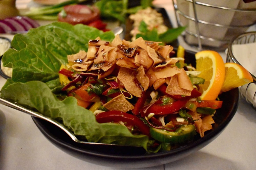 zahli restaurant salad