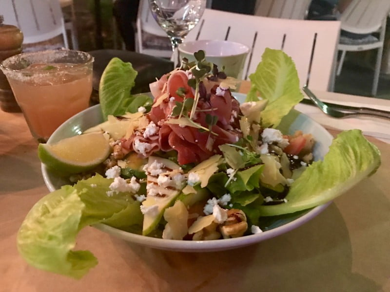 Café Perons - Pear and Prosciutto Salad