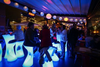 Glenmore winter rooftop party